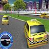 Play Състезание с таксита 3D